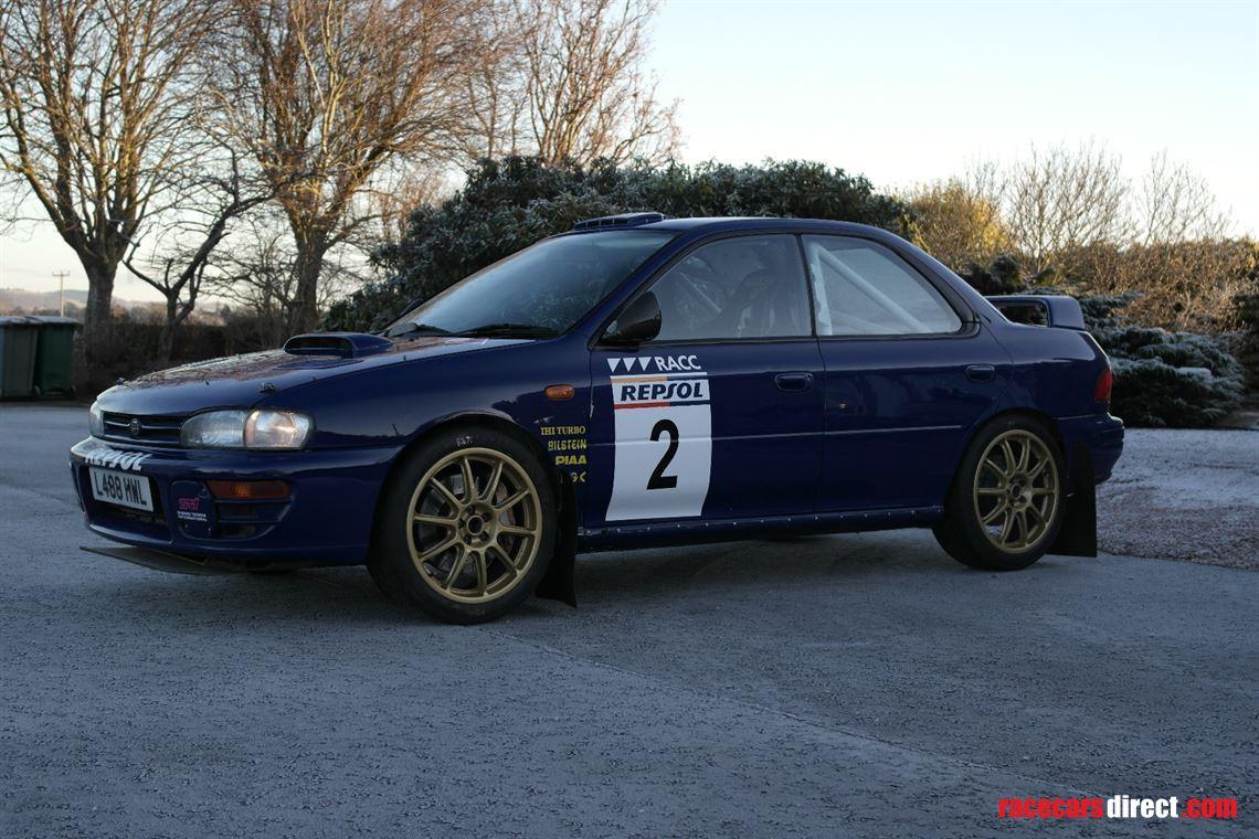 Racecarsdirectcom 1993 Subaru Impreza Rally Car