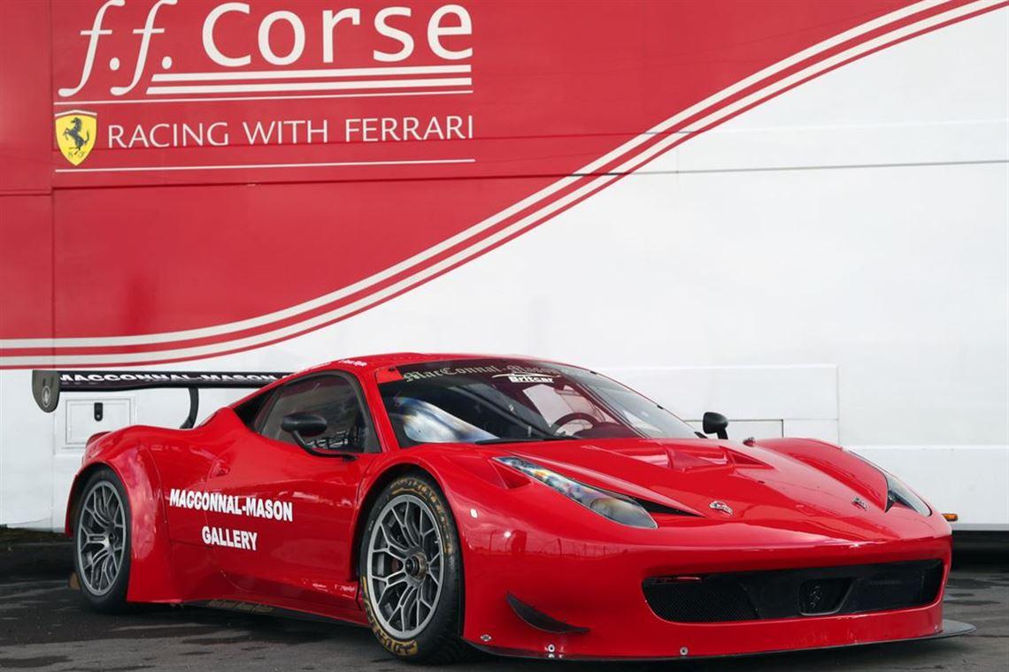 racecarsdirect 458 gt3 2012 2014 spec
