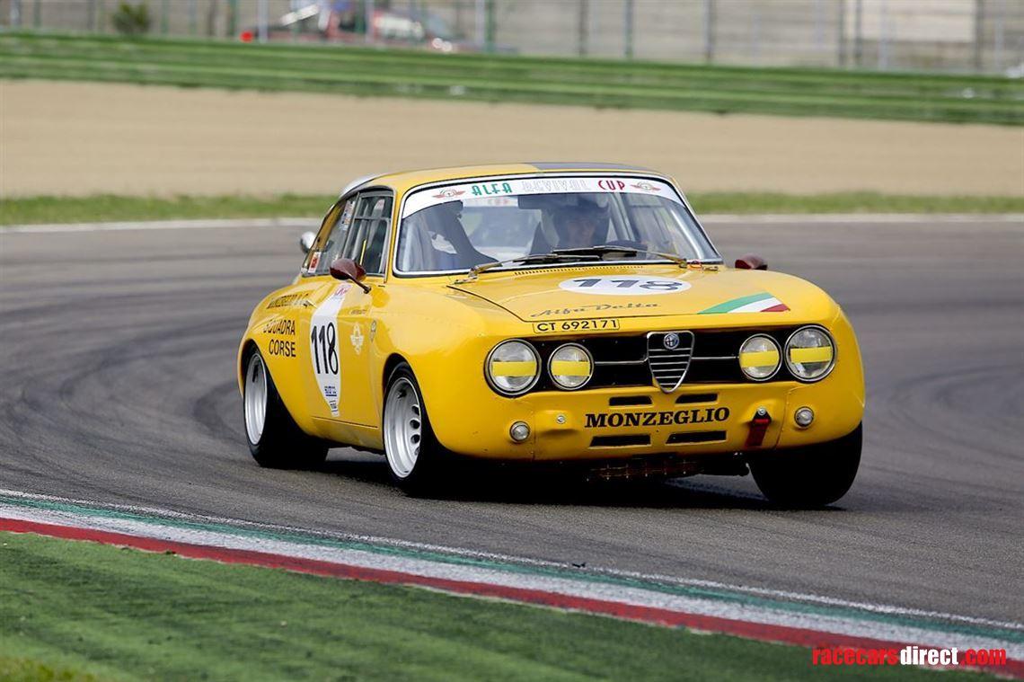 Racecarsdirect com - 1968 Alfa Romeo GTAm