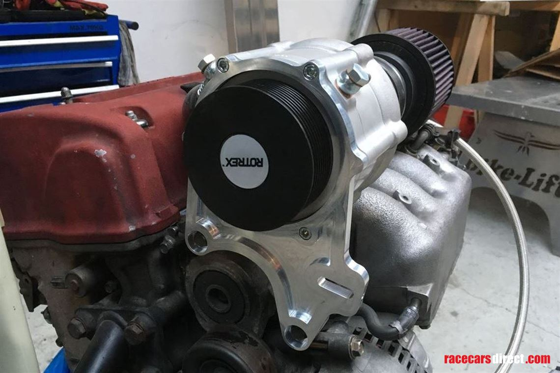 Racecarsdirect com - Honda K20 / Rotrex C30 CNC mounting brackets