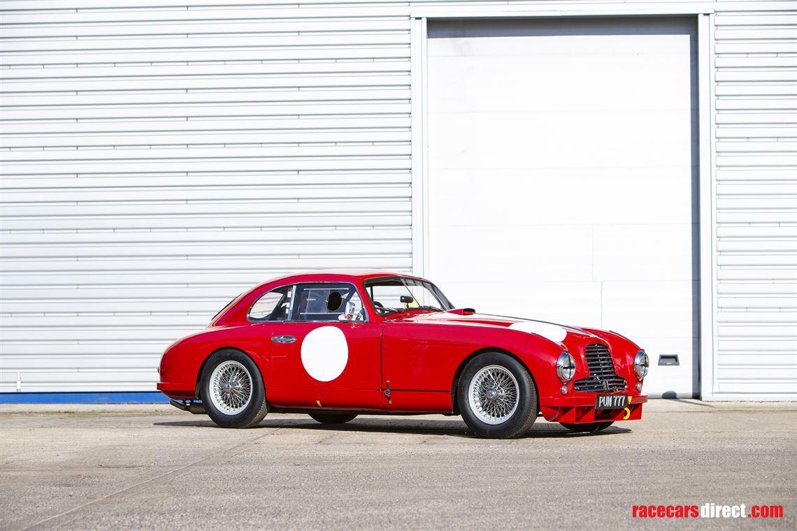 Racecarsdirect Com 1952 Aston Martin Db2 3 0 Litre Fia Competition Gt