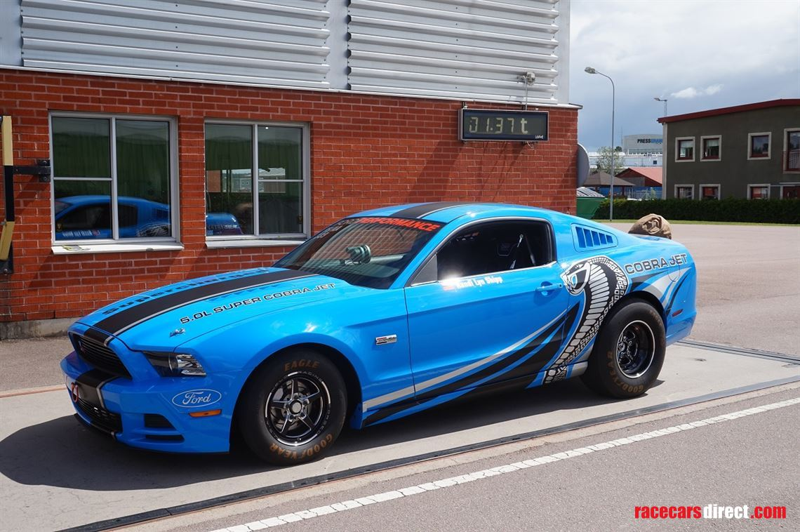 Racecarsdirect com - 2013 Ford Mustang Super Cobra Jet