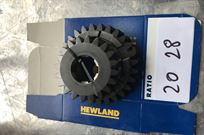 brand-new-hewland-ratios