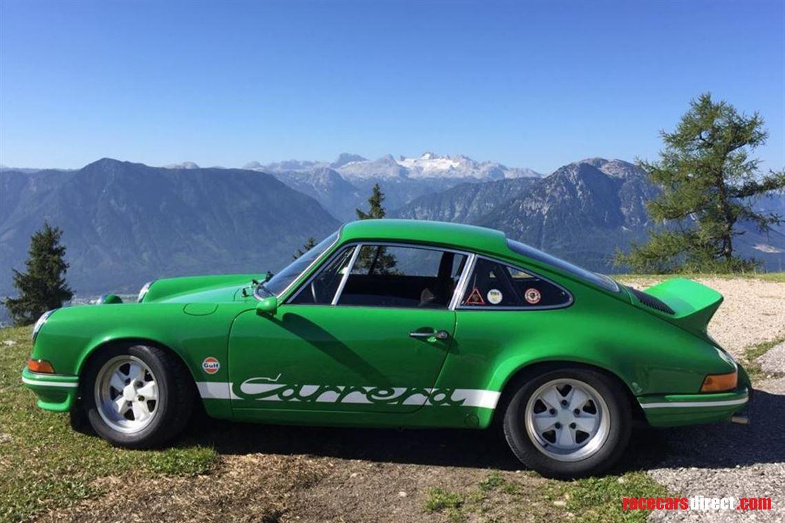 Racecarsdirect Com 1973 Porsche 2 7 Carrera Rs Touring