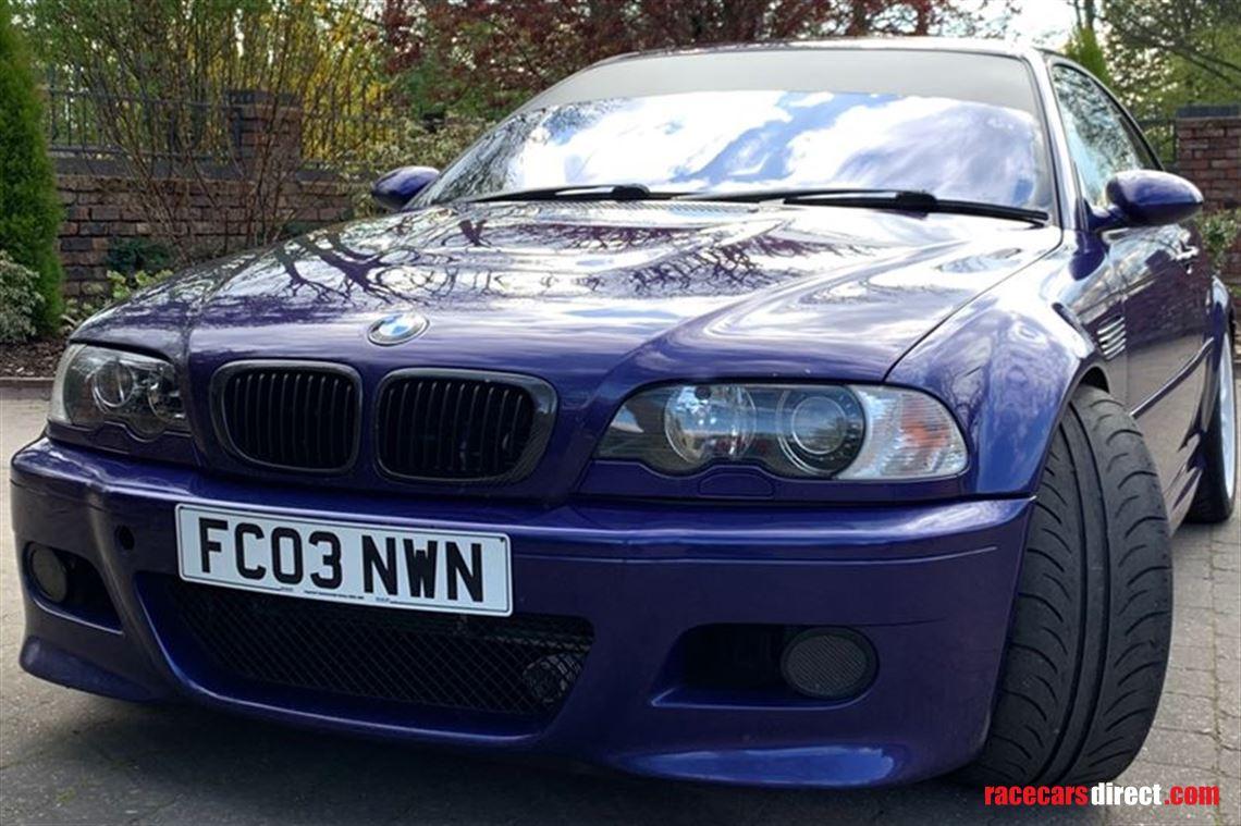 Racecarsdirect com - BMW E46 M3 - Road Legal - Engine Rebuilt