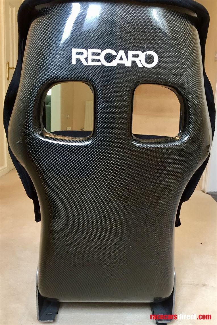 Racecarsdirect Com Recaro P1300 Gt Carbon Fibre Bucket Seat