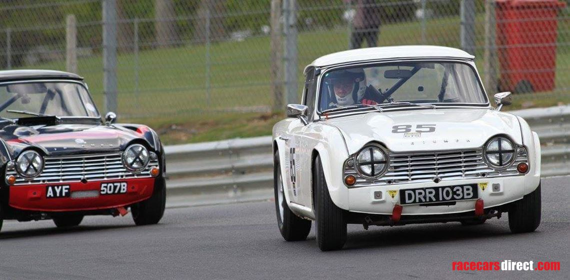 Racecarsdirect com - Triumph TR4 race car