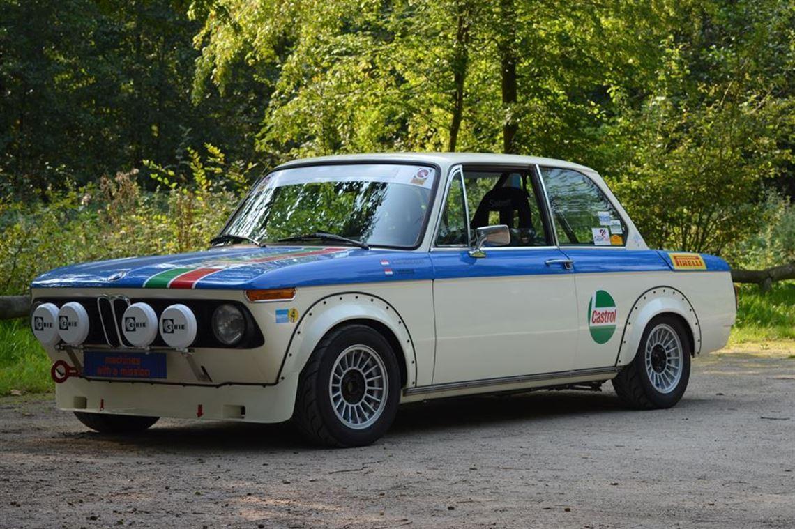 Racecarsdirect Com 1974 Bmw 2002 Tii Rally Car