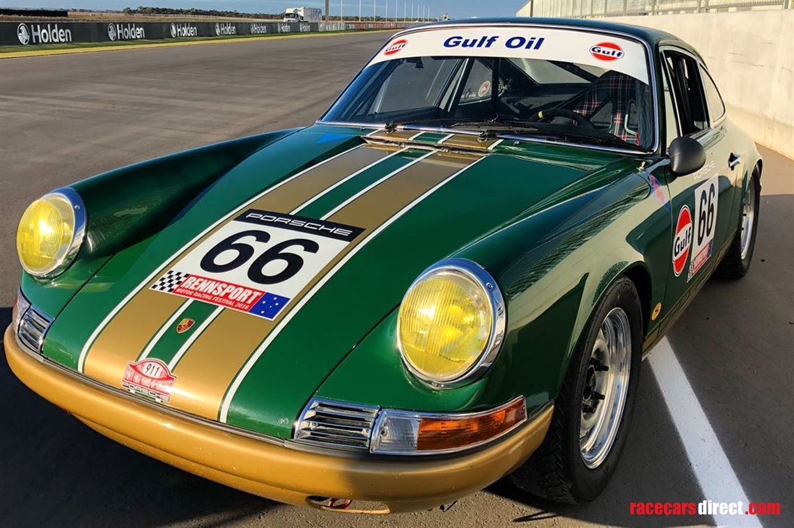 Racecarsdirect Com 1969 Porsche 911 Historic Race Car
