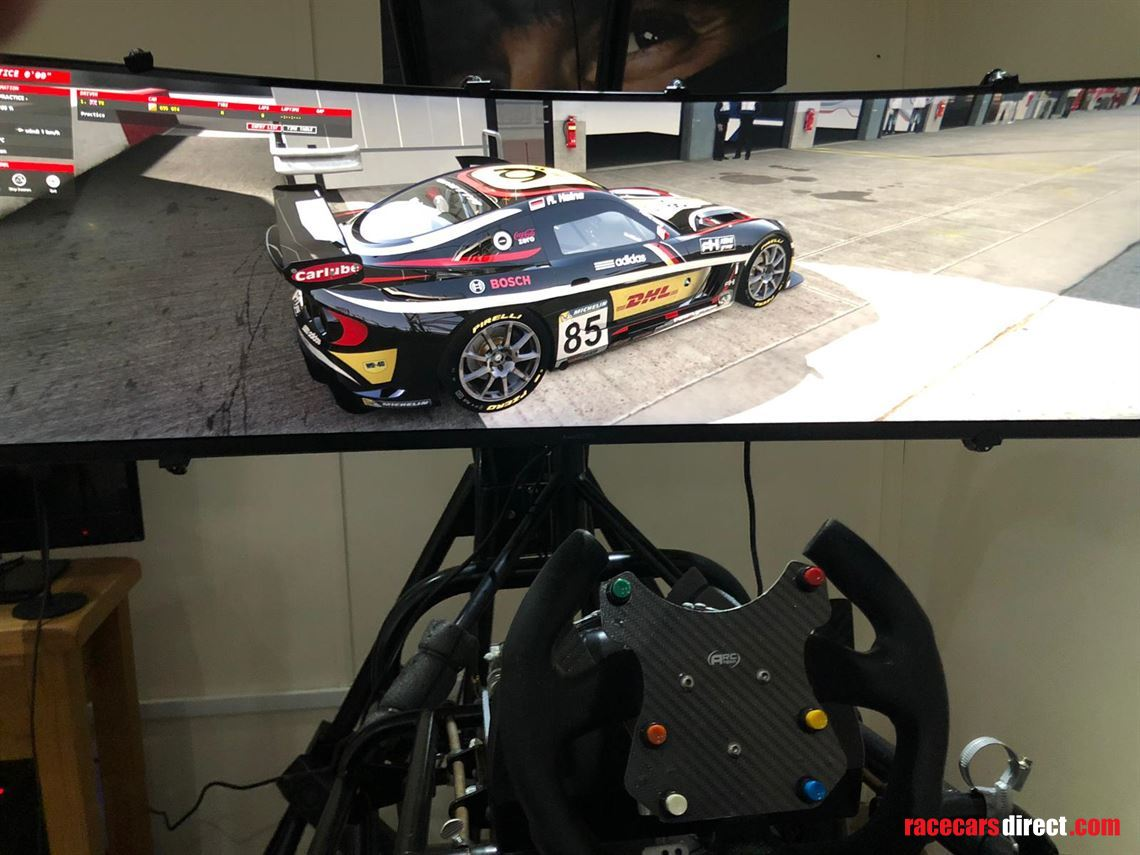 Racecarsdirect com - Simcraft apex 3 motion race simulator