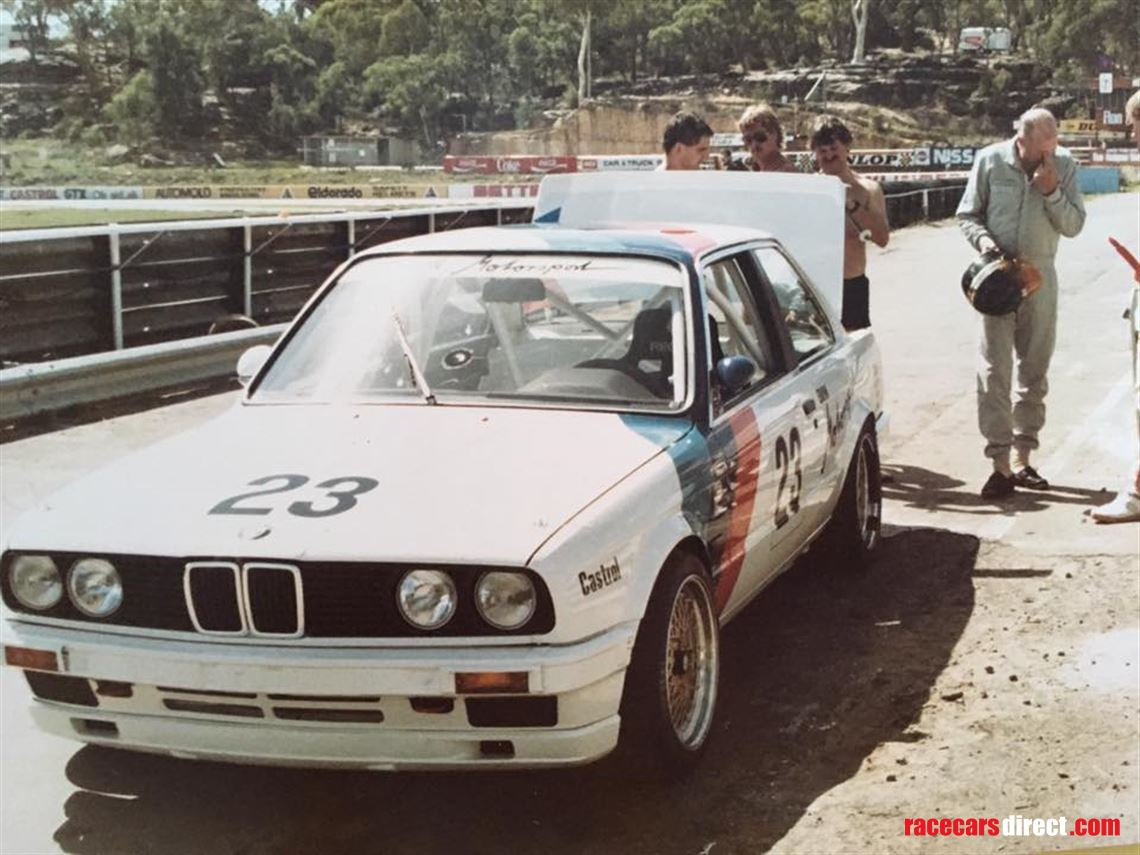 Racecarsdirect Com Bmw 323i E30 Group A Ex Jps Team Tony Longhurst