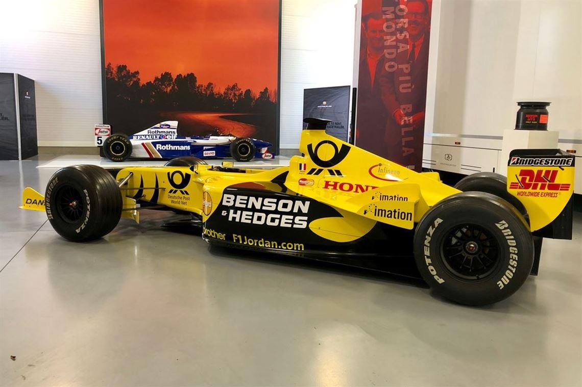 Jordan F1 Wheels and Tyres