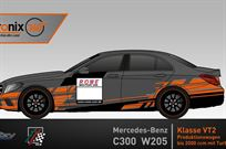 driverseat-on-mercedes-c300-w205-vt2-vln-24h