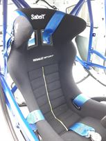 Sabelt harness and seat