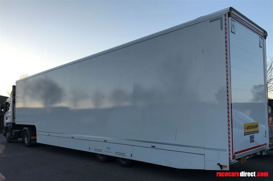 2016 Racetrailer.com transporter with Stegmaier awning and free Iveco Tractor!