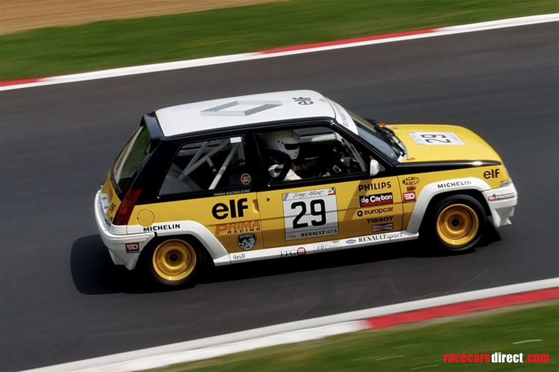 Racecarsdirect Com Renault 5 Turbo Coupe 1985 Group A Specification