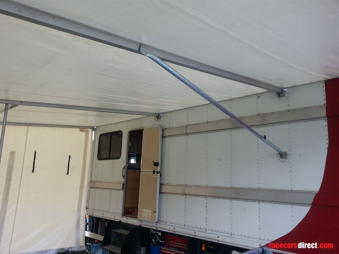 Racecarsdirect.com - truck awning used 5 times