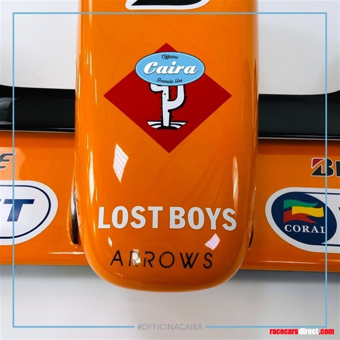 arrows-a21-formula-one---2000---nose-cone-fro