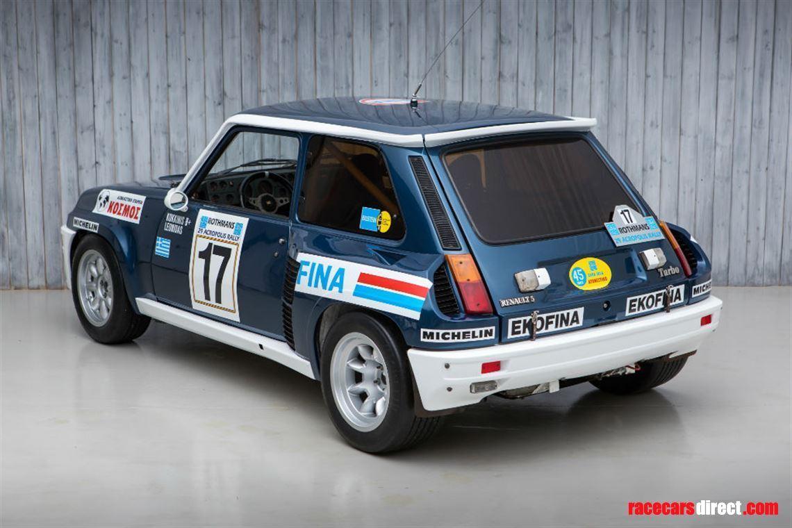 Racecarsdirect Com 1981 Renault 5 Turbo Group 4