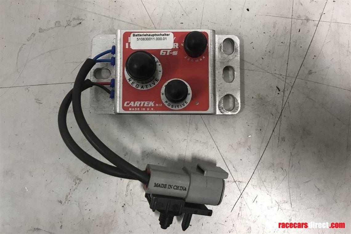 Diagram Cartek Electronic Battery Master Switch