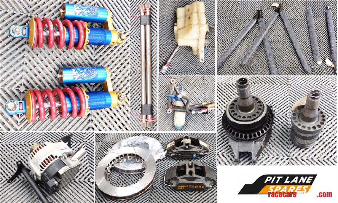 Supplied with all parts (large and small) required to ready the car for engine installation