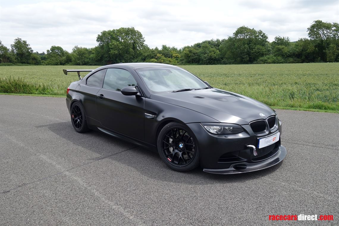 Racecarsdirect Com 2011 Bmw M3 E92 V8 Frozen Black Clubsport Track Car