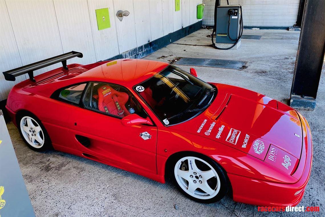 Racecarsdirect Com Very Rare Road Registered Ferrari F355 Challenge