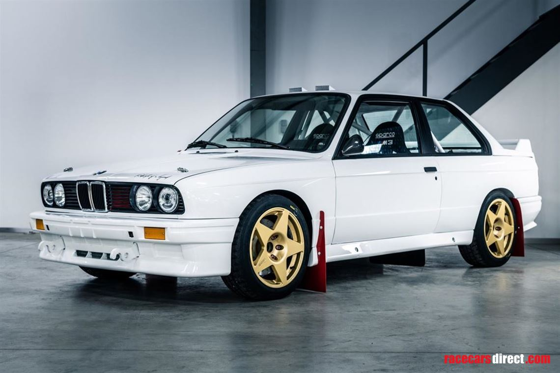 New BMW M3 Historic Rally Car