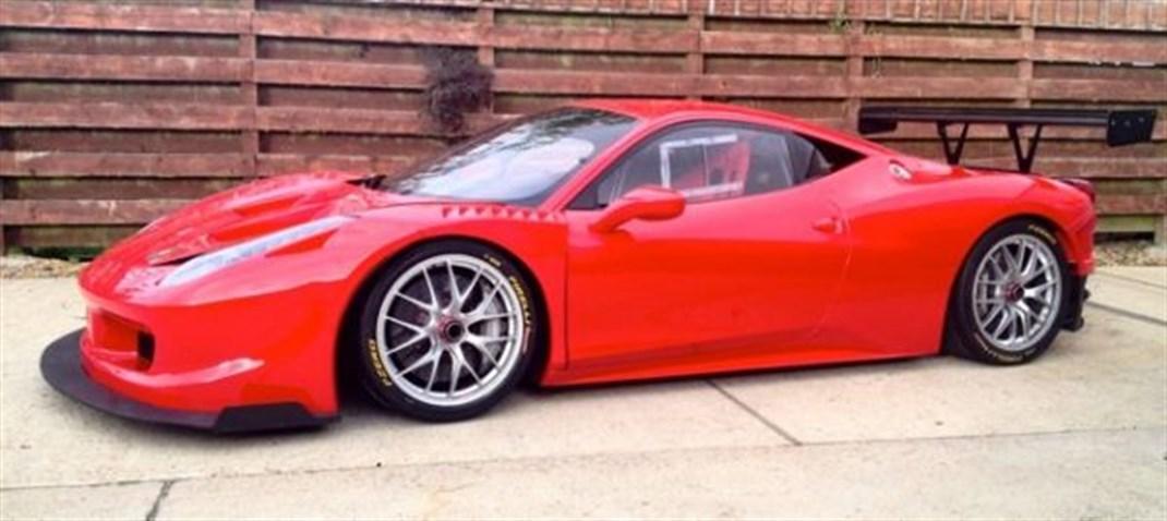 Racecarsdirect Com Sold Rollcentre Ferrari 458 Challenge
