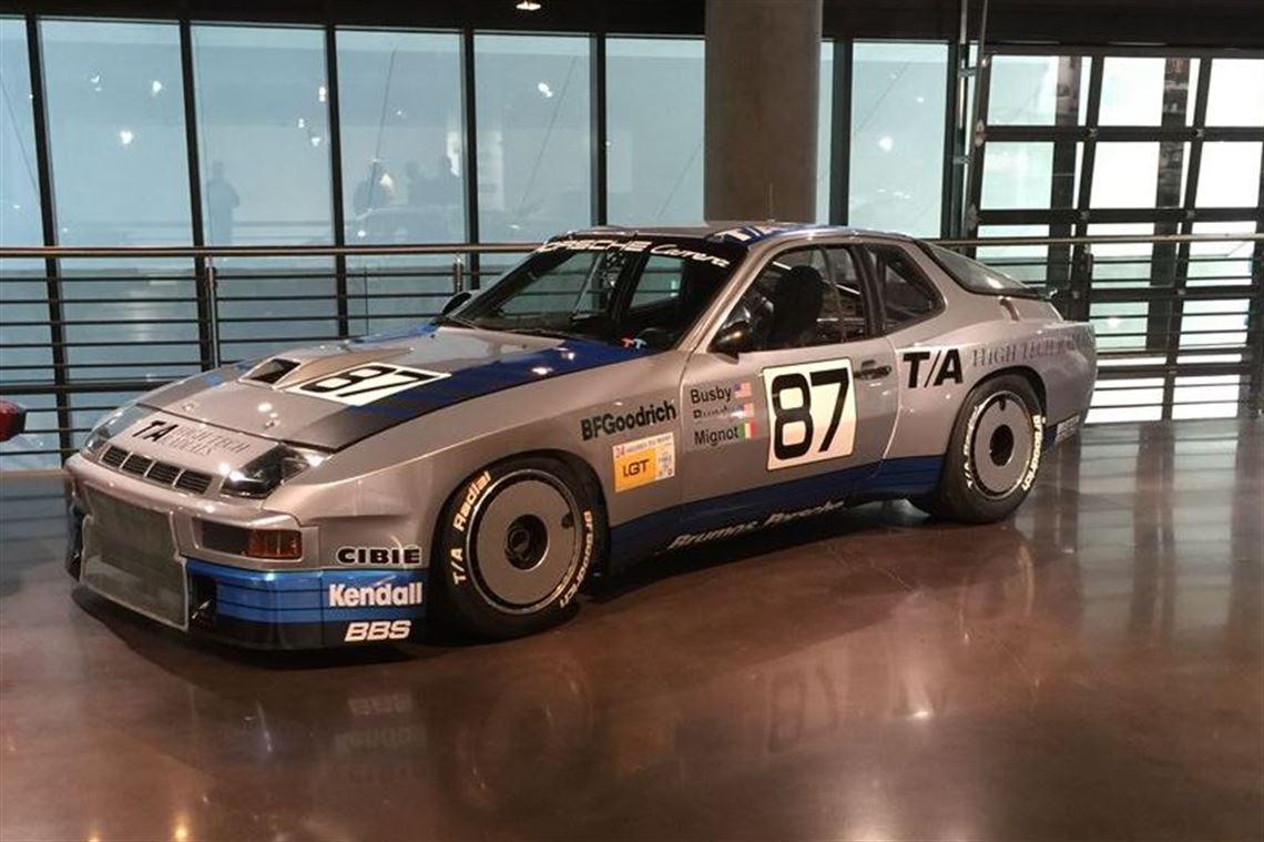 Racecarsdirect Com 1981 Porsche Factory 924 Gtr Reduced