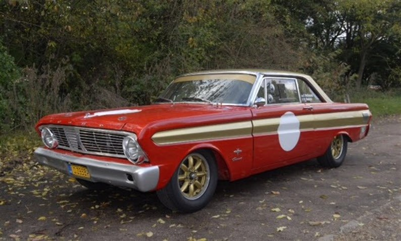 1964 ford falcon fia race car sold. Black Bedroom Furniture Sets. Home Design Ideas