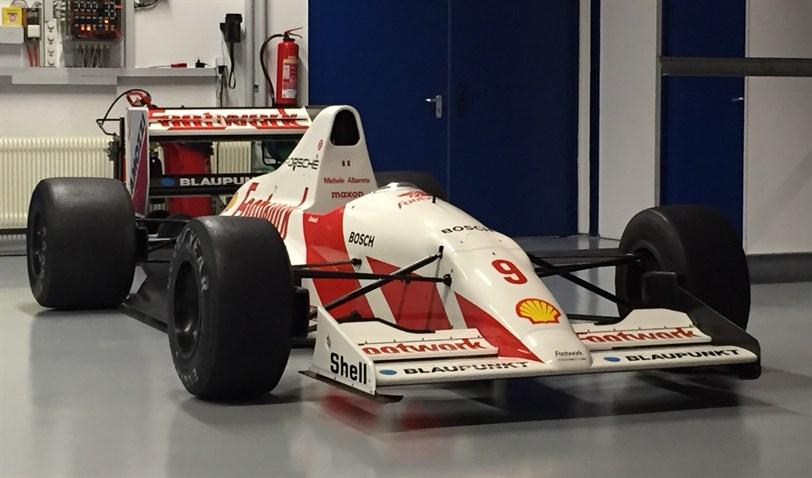 Automotive Car Parts >> Racecarsdirect.com - Footwork Arrows Porsche FA11C (F1)