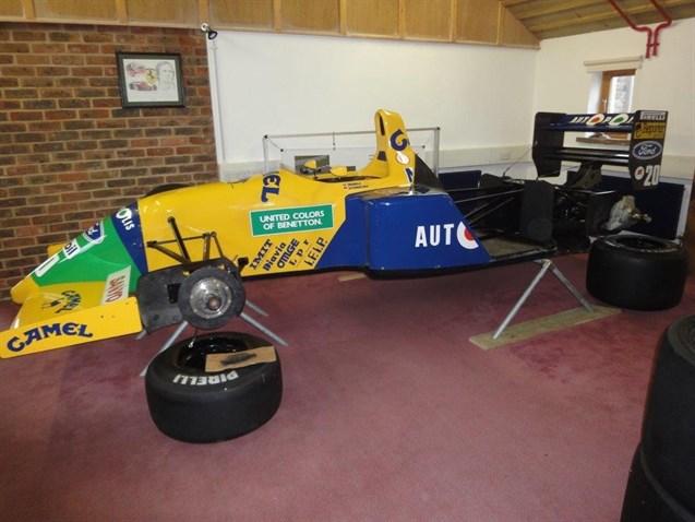 Racecarsdirectcom Benetton B Official F Showcar Chassis B - F1 show car