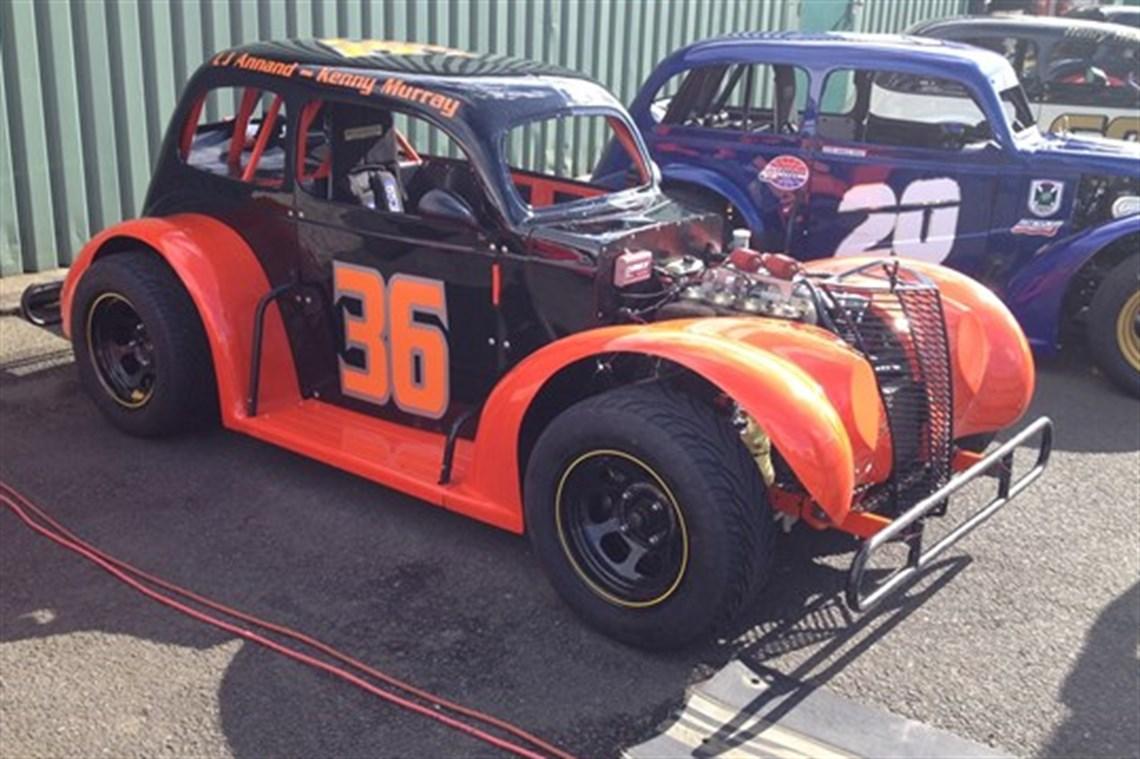 Description legends race car sedan body style full rebuild in 2014