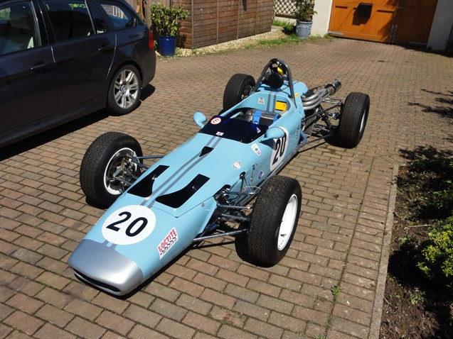 Racecarsdirect.com - Historic FF Merlyn 20A for sale