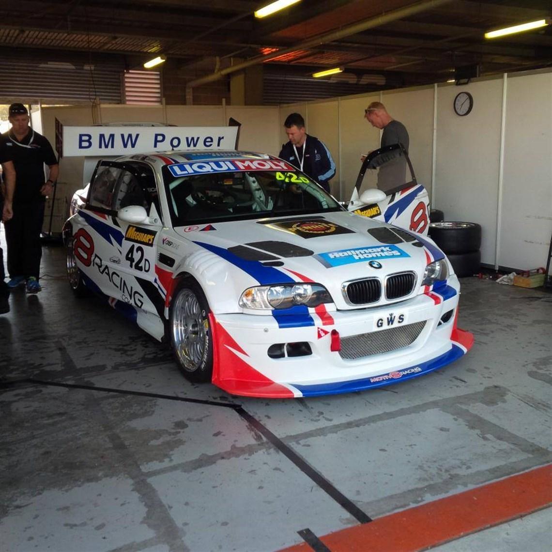 BMW E46 M3 GTR S62 V8