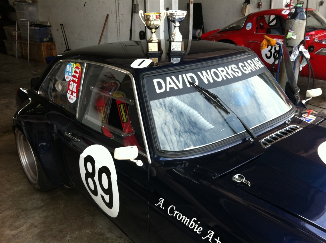Racecarsdirect.com - 1974 MGB GT V8 Race Ready - Just refreshed