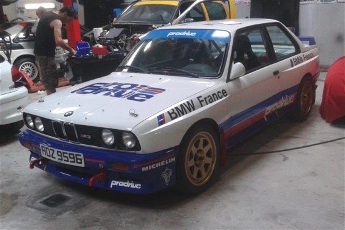 racecarsdirect - prodrive bmw group a m3 rally car