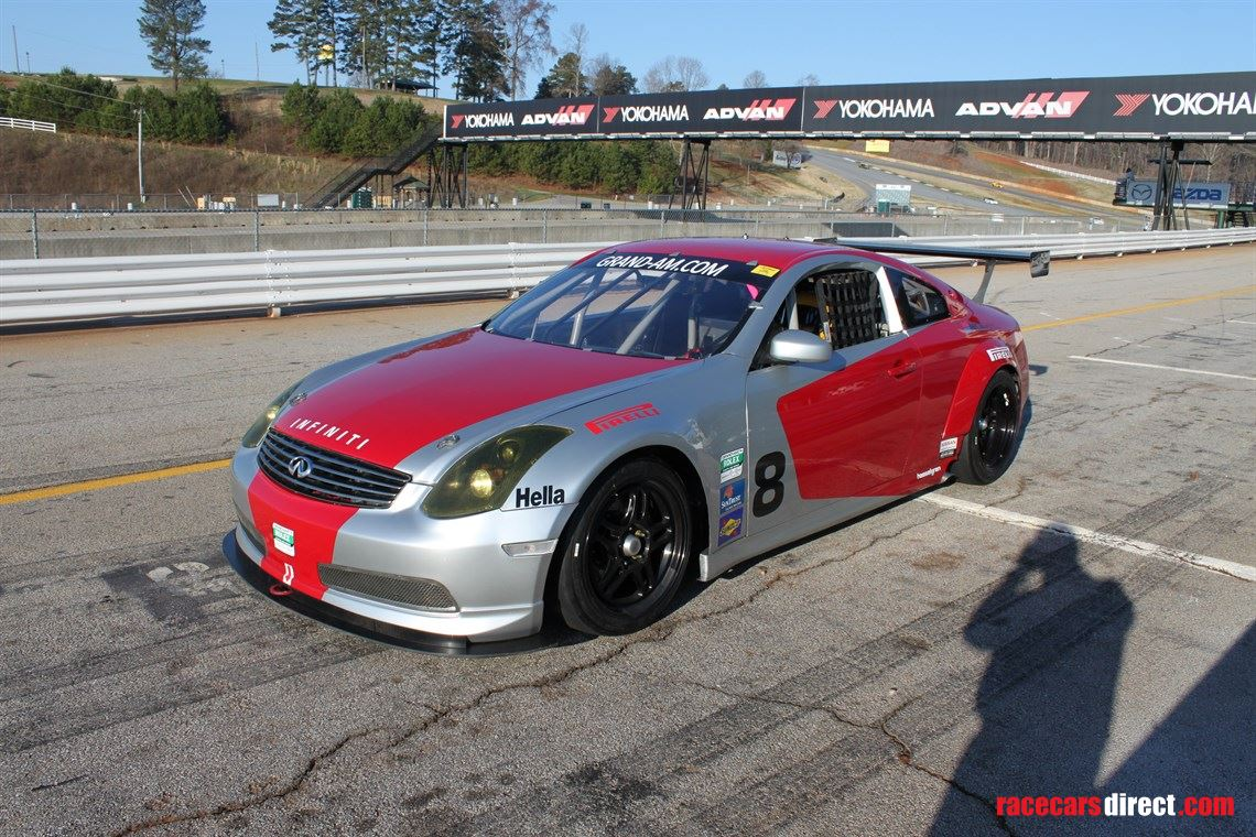 Racecarsdirect.com - Grand-Am Crawford Infiniti V8 G-Coupe 2 car package