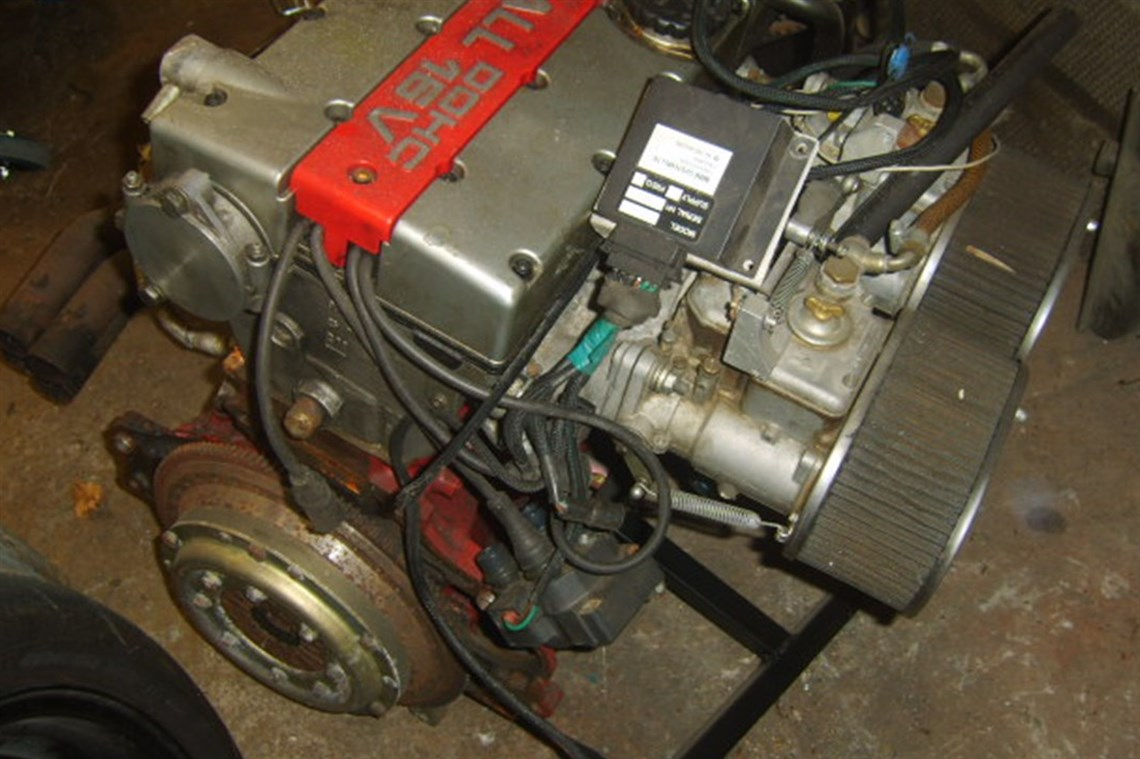 Racecarsdirect com - Vauxhall Red Top engine, dry sumped