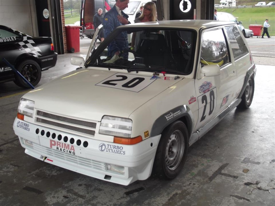Racecarsdirect Com Renault 5 Gt Turbo Much Developed Ex Cup Car