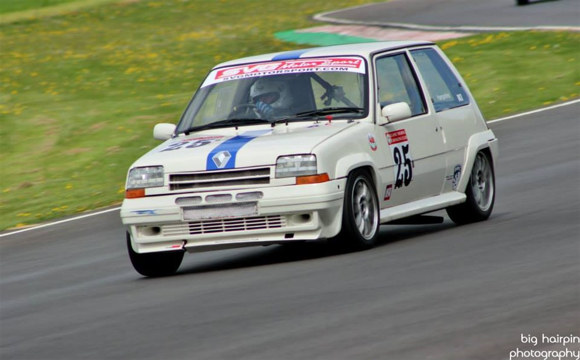 renault 5 gt turbo much developed ex cup car. Black Bedroom Furniture Sets. Home Design Ideas