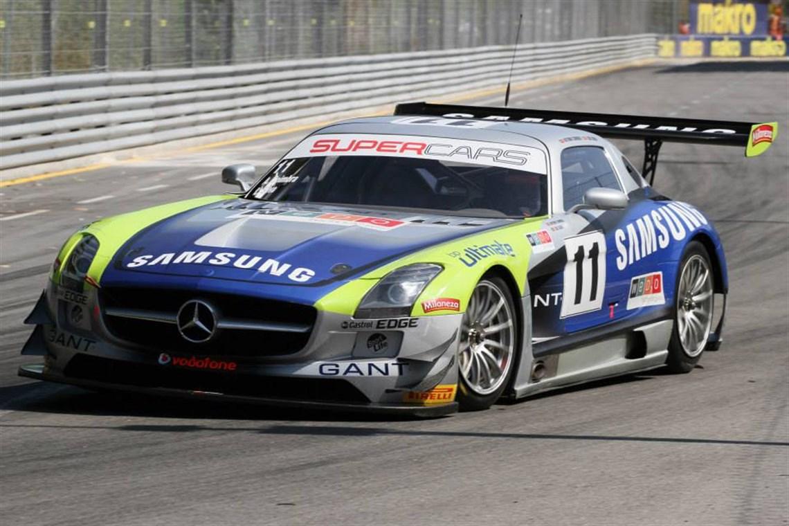 Racecarsdirect com - 2X Mercedes SLS AMG GT3