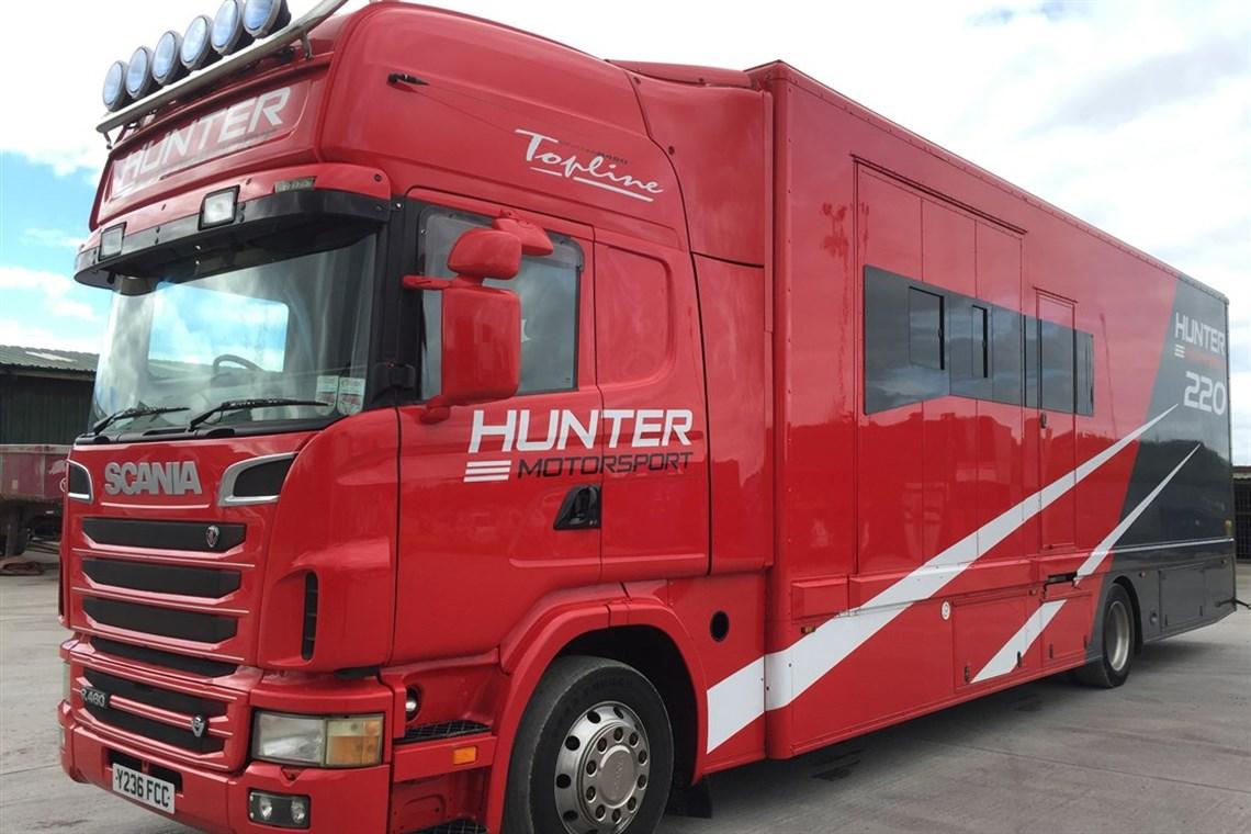 Racecarsdirect.com - Scania V8 Race Truck / Transporter