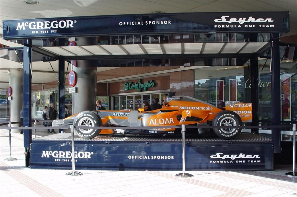 Racecarsdirectcom Promotionshow Race Trailer For F Race Car - Show car trailer