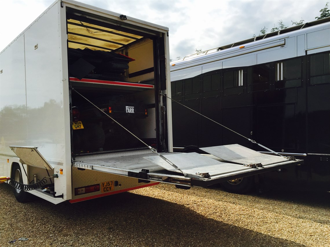 Racecarsdirect.com - **REDUCED** - Volvo Twin Deck Transporter