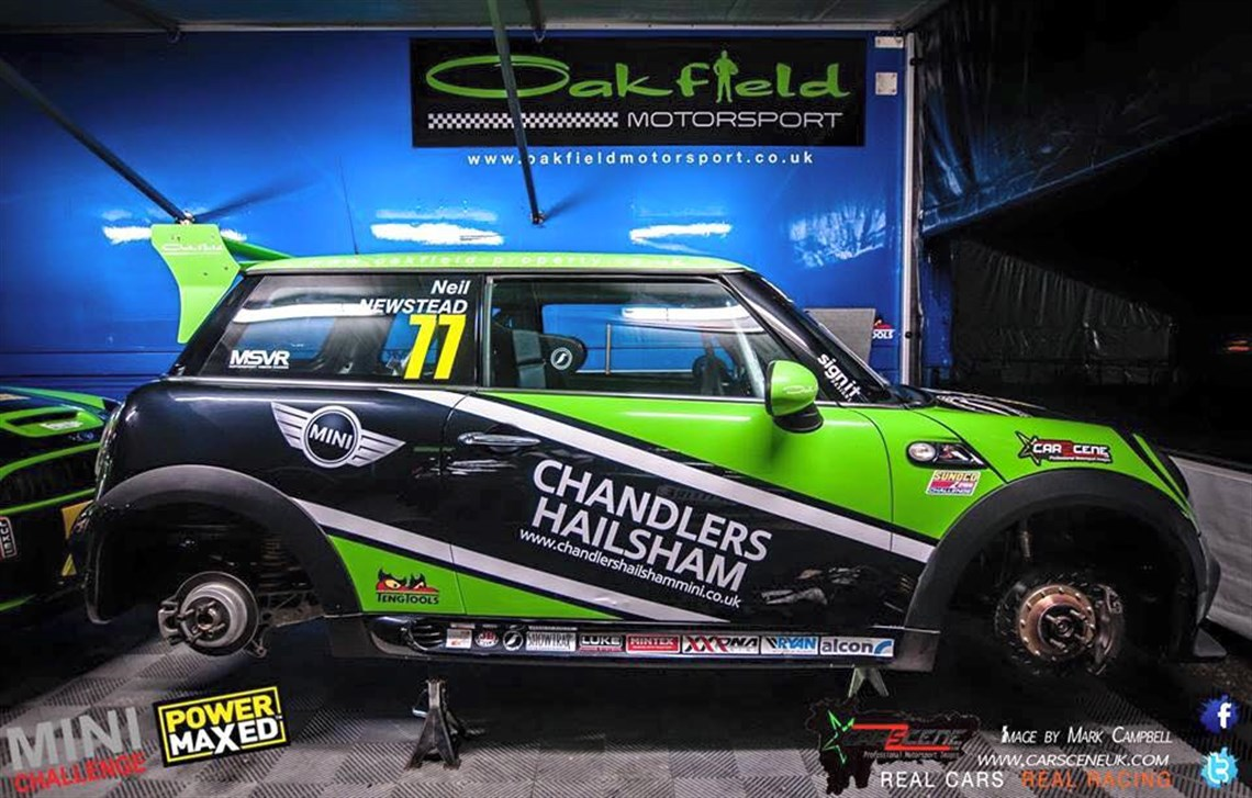 Racecarsdirect Com Mini Challenge John Cooper Works R56