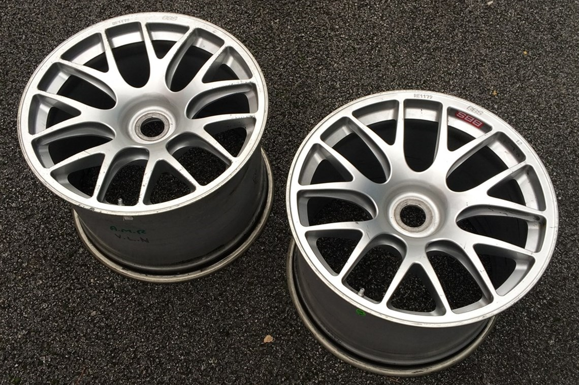 "Aston Martin Used Car Ad >> Racecarsdirect.com - 2 x 18"" BBS forged mag LMP GT centre lock wheel rims"