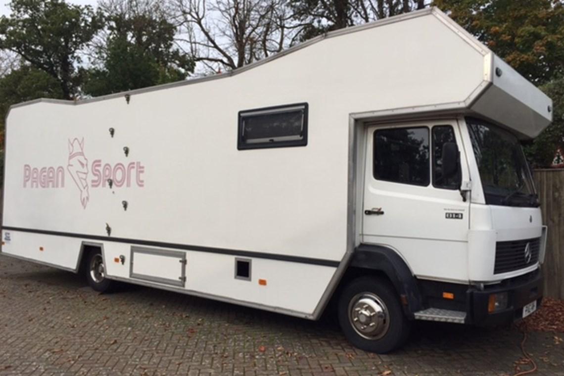 Mercedes Truck Camper >> Racecarsdirect.com - Mercedes 814 race transportor Sporthome motorhome