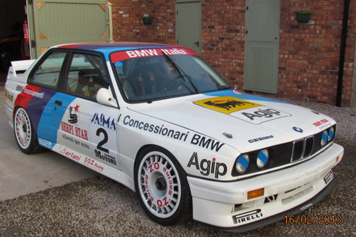 racecarsdirect - bmw motorsport e30 m3 group a